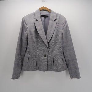 Nine West Notch Collar 2 Button Suit Jacket Blazer